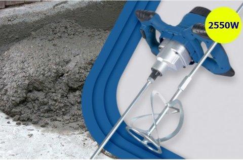 Höxter 2550 W-os beton- és festékkeverő gép