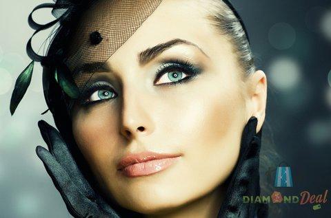 Alsó és felső szemkontúr tetoválás