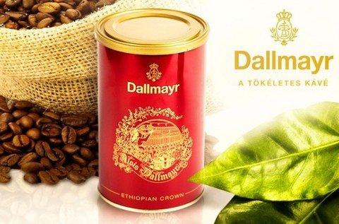 Dallmayr Ethiopia Crown őrölt kávé fémdobozban
