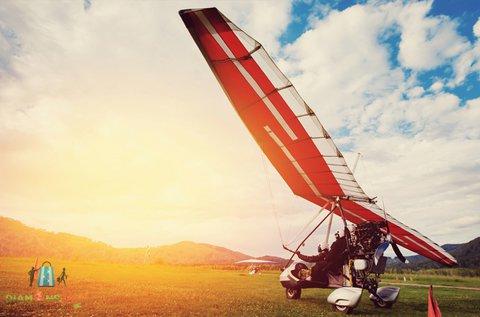 20 perces élményrepülés motoros sárkányrepülővel