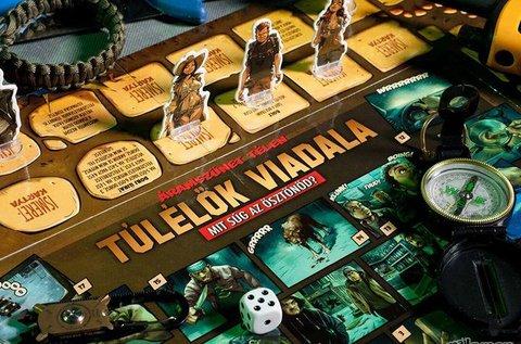 Túlélők Viadala társasjáték 14 éven felülieknek