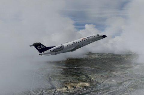 1 óra szabad repülés repülőgép szimulátorral
