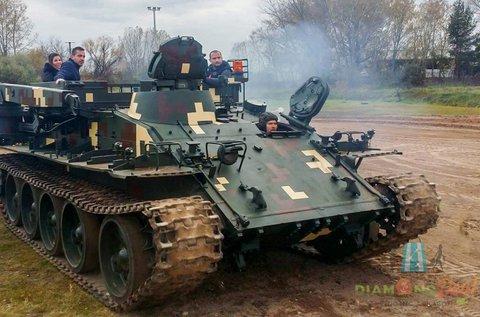 Vezess igazi tankot a gyáli motocross pályán!
