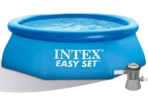 Intex EasySet felfújható medence vízforgatóval