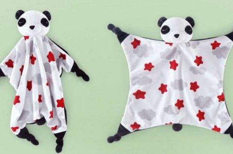 Aga plüss panda szundikendő