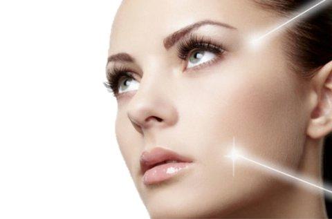 LFT fiatalító kezelés teljes arcon és szemkörnyéken