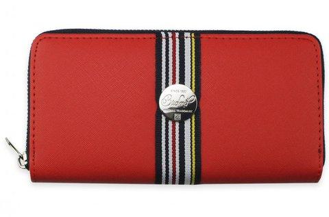 Budmil unisex pénztárca piros színben