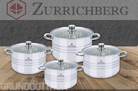 Zurrichberg rozsdamentes acél edénykészlet