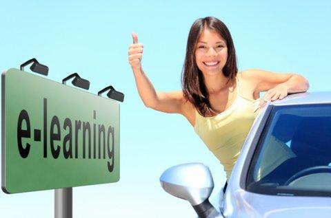 Komplett e-learning oktatás B-kategóriás jogsihoz