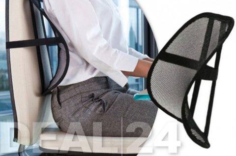 Gerinckímélő, székre rögzíthető deréktámasz