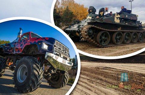 20-20 perc tank és Big Foot élményvezetés