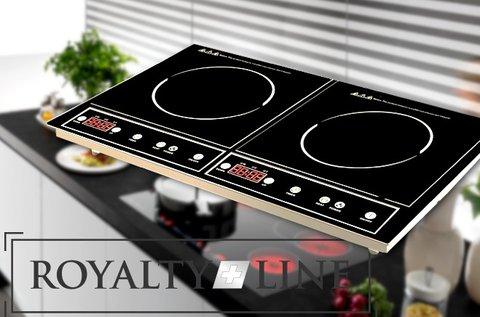 Royalty Line indukciós dupla főzőlap