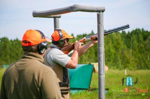 Agyaggalamb lövészet 50 lövéssel, oktatással