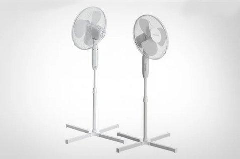 2 db álló ventilátor a nyári kánikula ellen