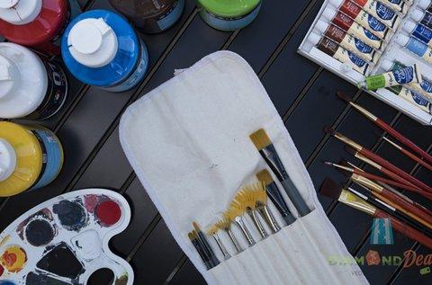 3 órás egyéni festő workshop