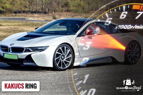 BMW i8 plug-in Hybrid sportautó élményvezetés