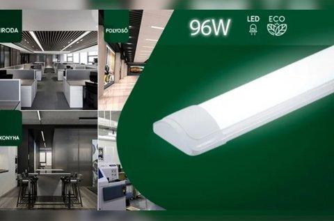 Energiatakarékos mennyezeti LED fénycső