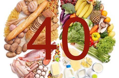 40 ételminta allergia vizsgálata