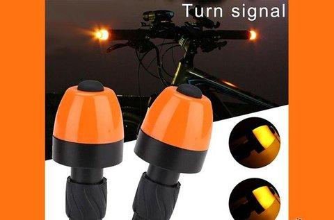 Kerékpár kormányrúd LED index lámpa