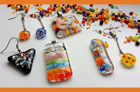 Hétvégi muranói üvegékszer készítő workshop