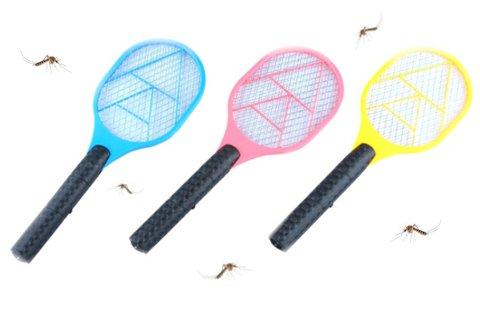Elektromos rovarirtó teniszütő