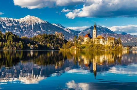 Alpesi kikapcsolódás a festői Bledi-tónál