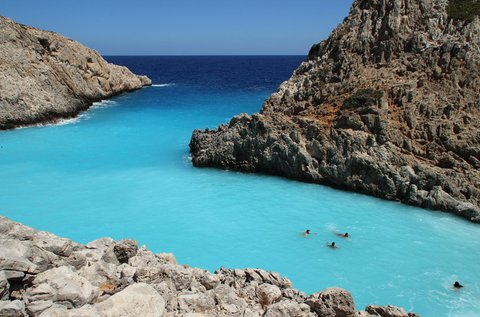 Júliusi nyaralás Kréta homokos tengerpartján