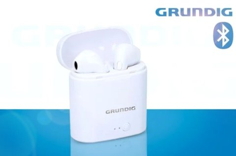 Grundig vezeték nélküli fülhallgató töltőtokkal