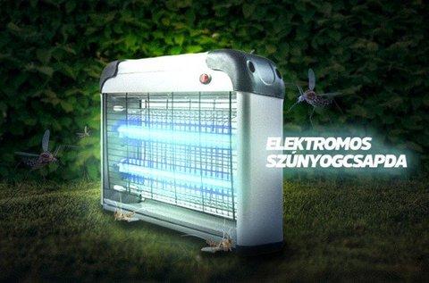 Nagyméretű rovarcsapda LED UV fénnyel