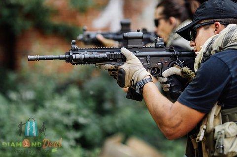 Élménylövészet 6 féle különleges fegyverrel