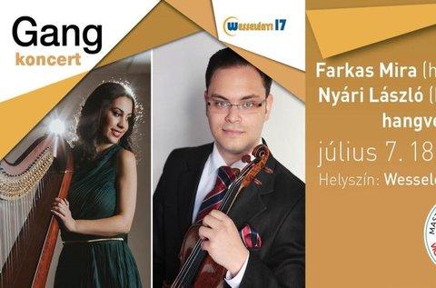 Jegyek Farkas Mira és Nyári László hangversenyére