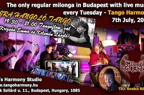 Argentin tango est az Art's Harmony Studióban