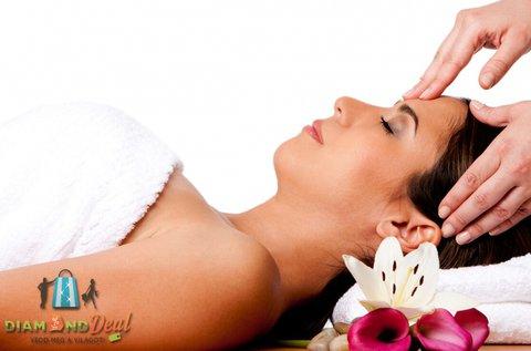 Bőrregeneráló arc-, nyak- és dekoltázsmasszázs