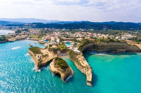 8 napos felhőtlen vakáció Korfun repülővel