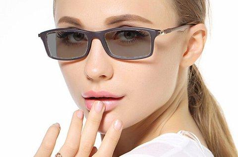 Fényre sötétedő szemüveg UV védelemmel