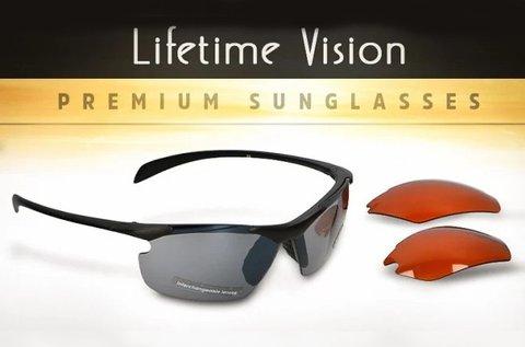 Félkeretes Lifetime Vision sportnapszemüveg
