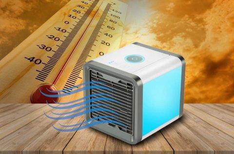 Handy Cooler hordozható léghűtő vízpermettel
