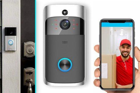 SmartHome vezetéknélküli WIFI kapucsengő