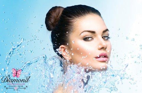 Tápláló, hidratáló mezoterápiás arckezelés