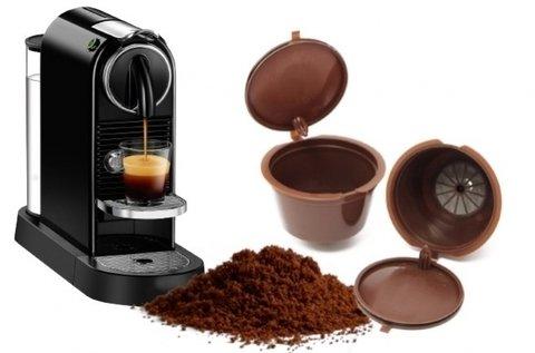 5 db-os újratölthető kávékapszula csomag