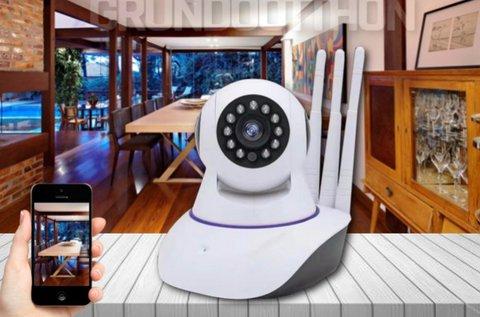 Mobilról és PC-ről egyaránt nézhető WiFi IP kamera