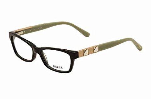 Guess női szemüvegkeret fekete-zöld színben