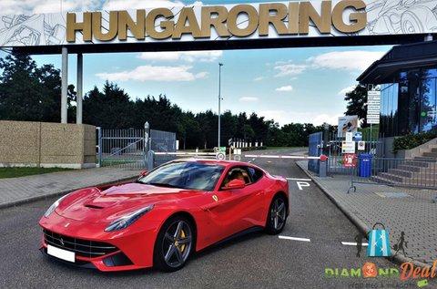 Ferrari F12 Berlinetta vezetés a Hungaroringen