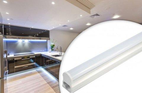 120 cm-es, 18 W-os LED fénycső armatúrával