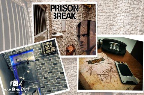 Prison Break szabadulószoba 2-5 főre