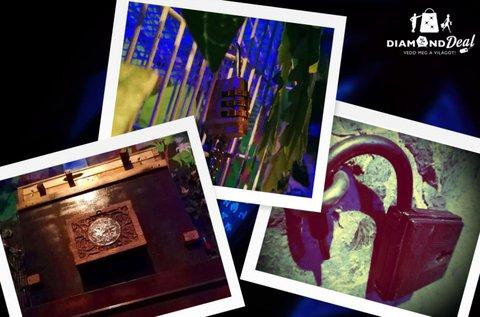 Dzsungel szabaduló szoba 2-7 fő részére