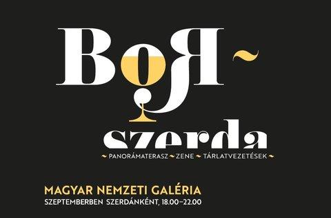 Borszerdák a Magyar Nemzeti Galériában