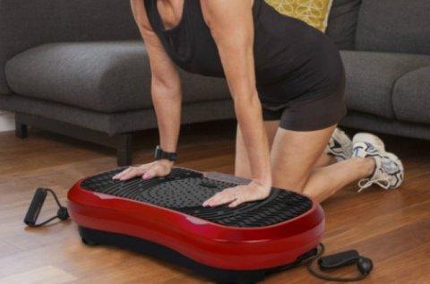 Vibrációs tréner edzőgép az otthoni alakformáláshoz