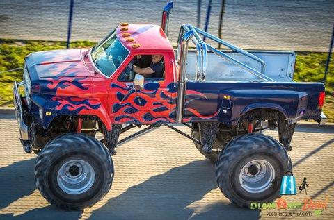 15 perces Monster Truck BigFoot élményvezetés