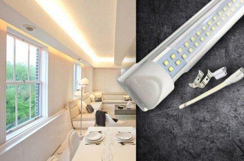 Dupla soros, 120 cm-es LED lámpa